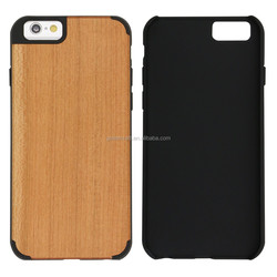 Slim Cell Phone Cover For Iphone 6 Plus Case Bamboo PC For Iphone 6 Case