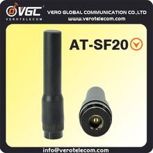 sma conector bnc walkie talkie antena para radio portátil at-sf20