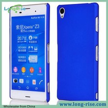 Wholesale Rubberized Frosted Back Cover Case for Sony Xperia Z3 D6605 D6653