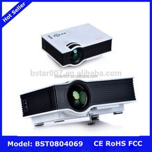 UC40 Mini Projector,NO.395 video projector 500 ansi lumens