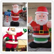 santa outhouse christmas inflatable decoration