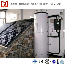 China made portable split pressure heat pipe solar water heater, solar collector price