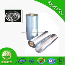 PVC thermoformed cover packaging transparent rigid PVC plastic sheet 0.3mm