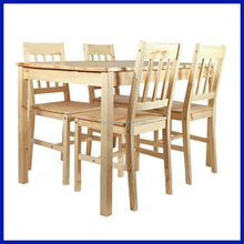 Hot sale!Wooden frame dinning furniture one table & four chairs