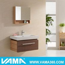 VAMA fashion soft close led touch light cabinet manufacturer