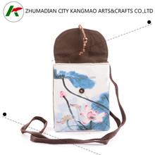 women cotton drawstring bag