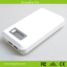 emergency car battery starter perfect surface white color 8000mAh cigarette lighter jump start