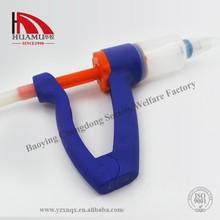 animal syringe veterinary syringe 560 ml in blue 250*160*45 mm