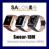 Competitive price accept paypal bluetooth watch MTK2502 smart watch for android and ios phones