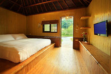 synthetic bamboo for internal wall panelling decoration