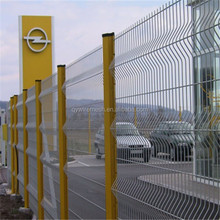 Holland/dutch Wire Mesh Fence/wave Mesh Fence(pvc Coated)