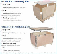 automatic plywood packing line