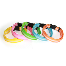 nice beautiful led dog collar