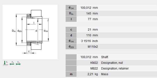 H322X315 bearing Adapter Sleeves