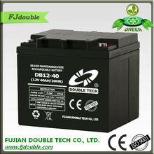 Rechargeable solar ups 24v 40ah battery