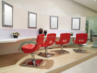 2015 Cost-effectiv Salon Combination Furniture/Cheap Hair styling chairs+Hot sale mirror station