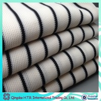 Polyester Mesh fabric striped style