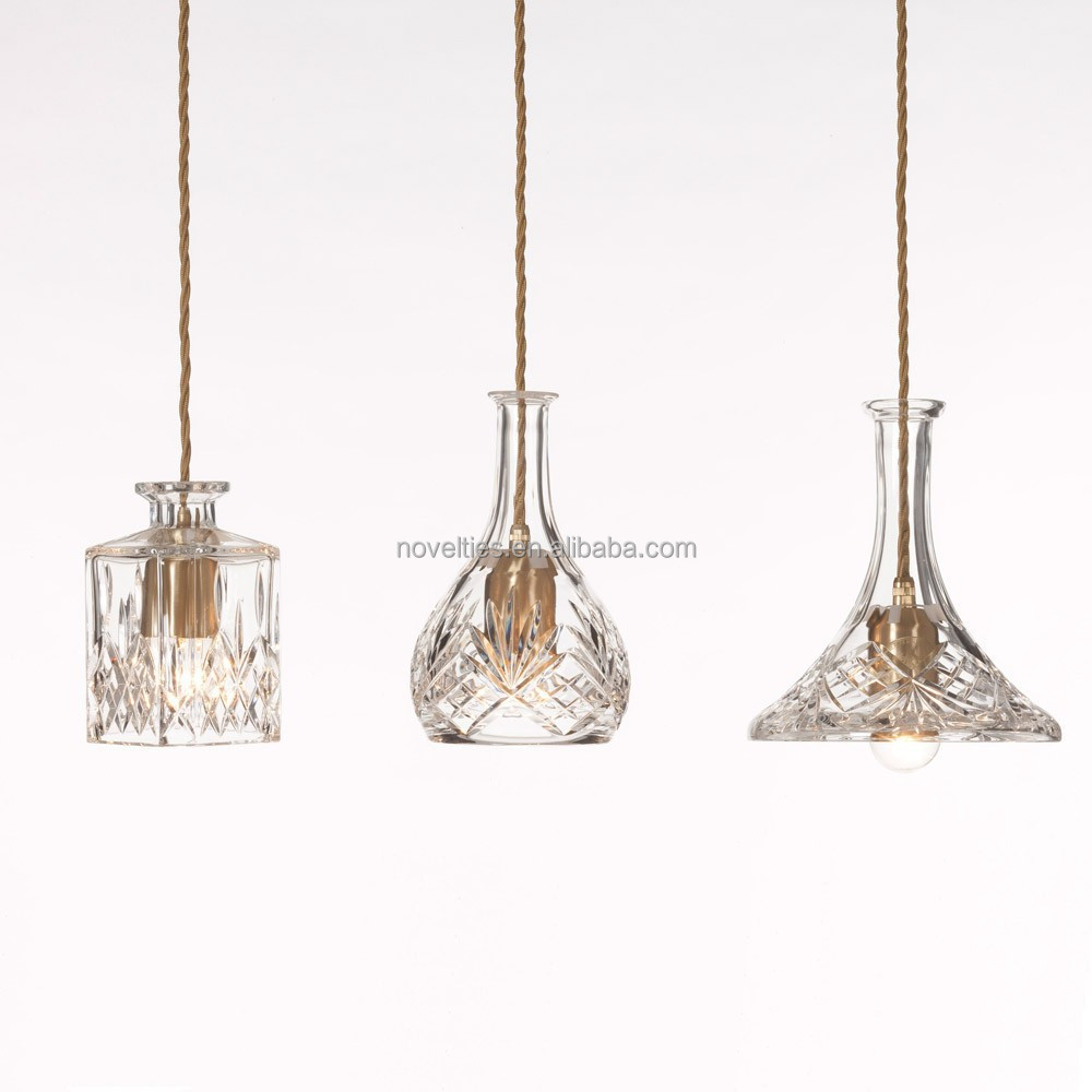 modern suspension lights art decorative vase pendant lamp