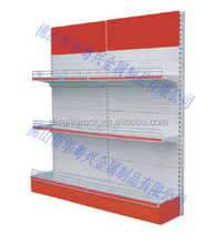 2 sides multi-function magazine display rack/book store shelves