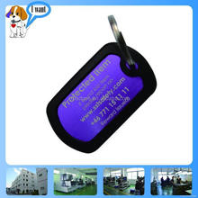 New style top sell neck metal surface tags qr code