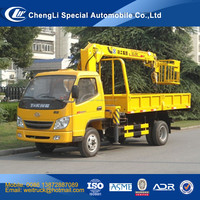 Factory direct supply T-king SQ2 2 ton truck crane, crane truck, truck mounted crane
