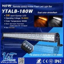 Y&T led light bar , New 180w flash 4D lens 31.5 inch led light bar