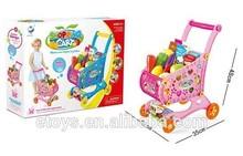 crianças carrinho de compras de brinquedos brincadeira brinquedo