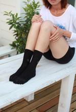 fibra de plata calcetines, calcetines antibacterianos -100% algodón