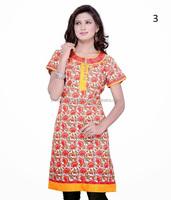 Cotton kurta neck designs