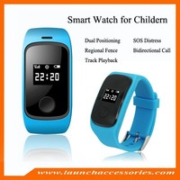 2015 newest smallest waterproof IP67 kids gps watch with calling and voice monitor -Caref watch only for sole agent