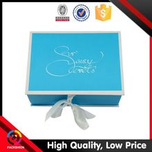 Brand New Design Custom Fit Paper Gift Box To Decorate