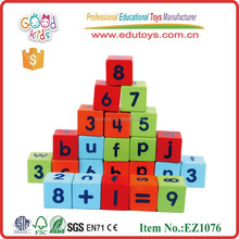 Wood Alphabet Block,Study Letter Game