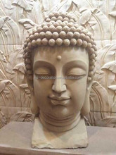 Artificial sandstone carved buddha