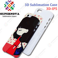 3D Heat Transfer Printing Case for iphone 5