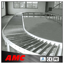 Electrical Full Automatic Customized Roller Conveyor Belt With Aluminum Frame Material