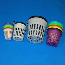Good Quality PP Environmental 2'' Plastic Basket Plant Net Pot