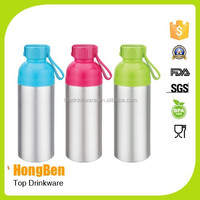 Cycling Bike Outdoor Sports Bicycle Aluminum Alloy 500ml Water Bottle with Clip