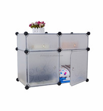 4 storage cubes easy to install with many color available YK-1015