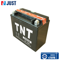 China best quality 12v 18ah gel mf ups motorcycle battery