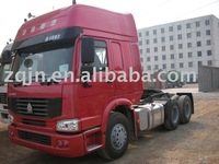 Howo A7 used tractor head trucks for sale