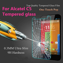 Wholesale Protective Film 9H 2.5D Explosion-Proof High Transparent Premium Tempered Glass Screen Protector For Alcatel C5