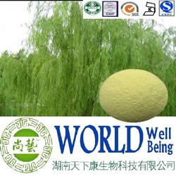 Hot sales plant extract White willow bark extract/Salicin 98%/Antipyretic Free sample