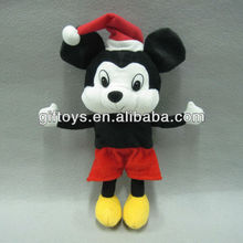Lovely Funny Mickey Mouse Plush Toy with Basketball Holder