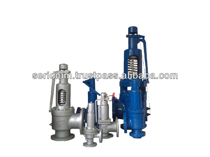 steam boiler safety valves