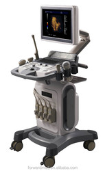 Color Doppler 4D Ultrasound Machine with Trolley