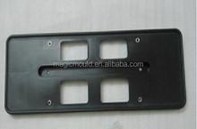 plastic license plate frame mold making/Transparent plastic car license plate frame moulds in zhejiang taizhou