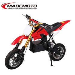 2015 Best quality 500W chinese motorcycle electric/kick start racing dirt bike