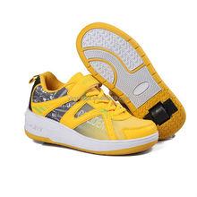 fashion high quality brand shoes china sport, mens skate shoes roller sport, retractable roller shoes with button wheels