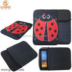 neoprene laptop sleeve without zipper, for ipad case Sublimation printing