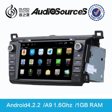 toyota mark x car dvd player support canbus wtih Dual Zone HD digital TMC TV USB 3F Function android4.4.4 system